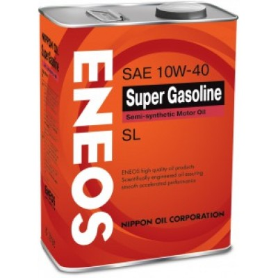 ENEOS    Gasoline Semi-Synthetic 5w30 SL полусинтетика     4л   масло моторное