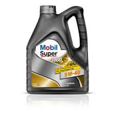 Mobil Super 3000x1 5w40   4л масло моторное 152061