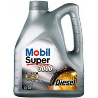 Mobil Super 3000x1 5w40 DIESEL 4л   масло моторное 152062