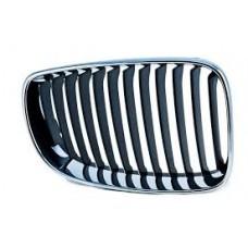 Решетка черный/хром Прав.BMW-1 (E87), 04 - 51137077130