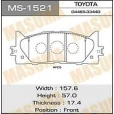 Тормозные колодки Camry V40 06- MS1521