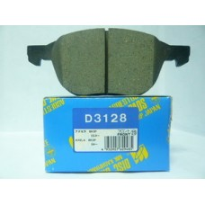 Колодки тормозные дисковые передн FORD: C-MAX 07-, FOCUS C-MAX 03-07, FOCUS II 04- D3128