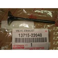 Клапан выпускной Corolla 120  1371522040