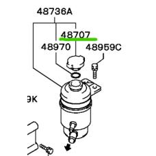 Крышка Бачка Гидроусилителя Lancer 9 MR369155