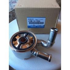 Радиатор масляный (теплообменник) CX-7/BL - Оригинал LF6W-14-700A