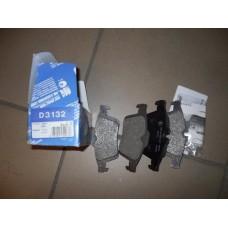 Колодки дисковые задн.  FOCUS 2 , 3  C-MAX, Tourneo, Transit, Mazda3 D3132