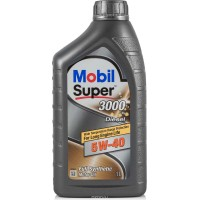 Mobil Super 3000x1 5w40 DIESEL 1л   масло моторное