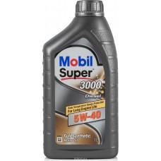 Mobil Super 3000x1 5w40 DIESEL 1л   масло моторное