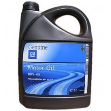 GM 10W40 масло моторное синт.5л  1942046