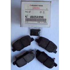 Тормозные колодки задние ASX 14- /Outlander III 4605A998