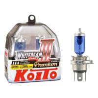 Лампы H4 WHITEBEAM PREMIUM 4500K Koito P0744W