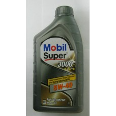 Mobil Super 3000x1 5w40   1л масло моторное     152060