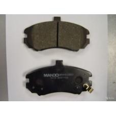 Колодки Тормозные Передние Элантра XD 03- (С выступом только на XD ) MPH36 Mando