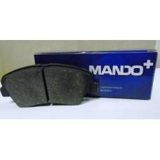 Колодки Тормозные Передние Солярис Рио 4 i30 12- Ceed 12- MPH46 Mando